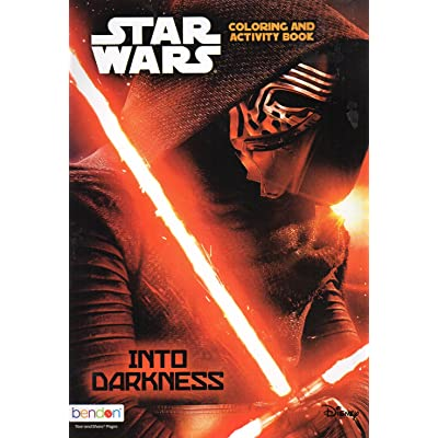 Star Wars - Into Darkness - Coloring and Activity Book: Toys & Games