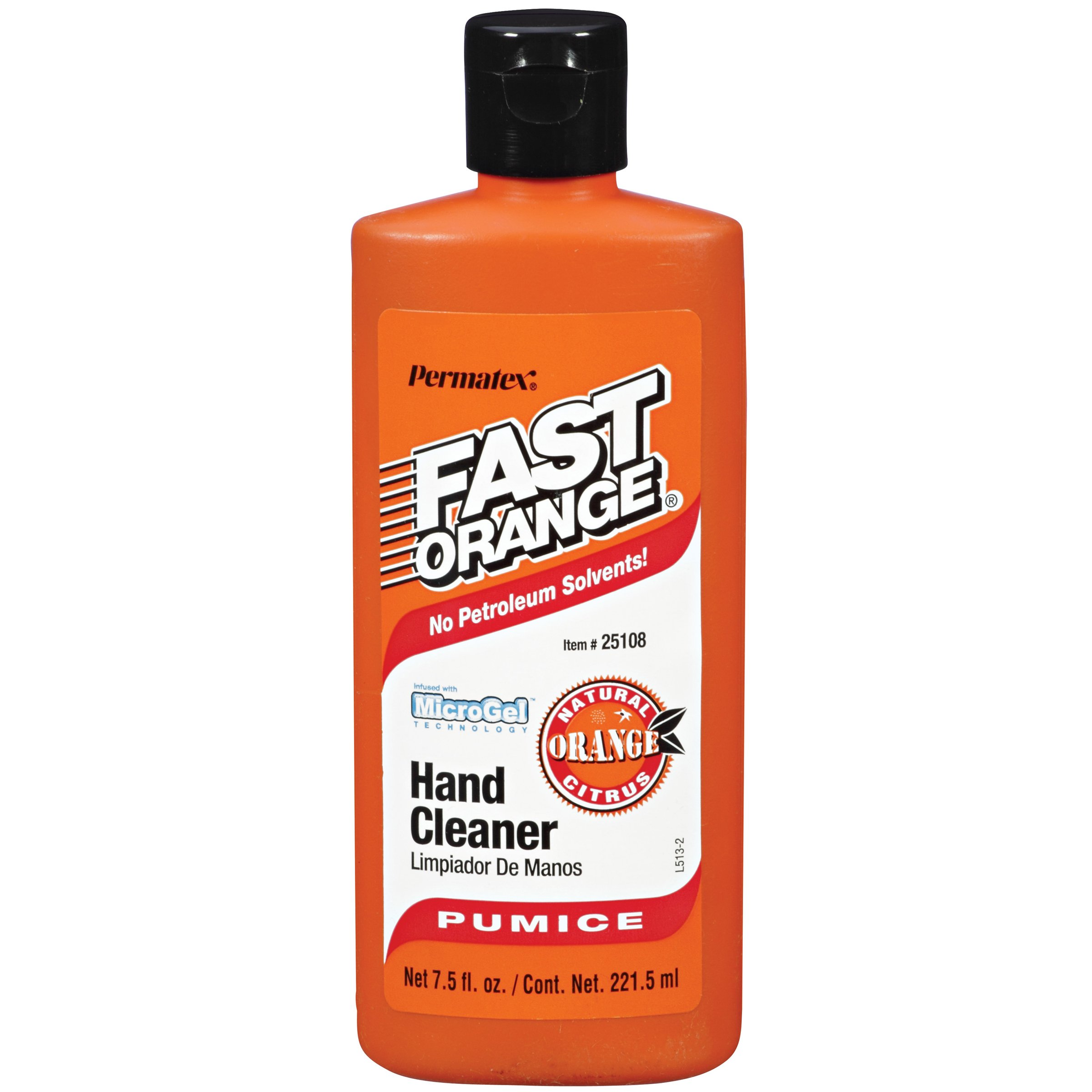 Permatex 25108-12PK Fast Orange Pumice Lotion Hand Cleaner, 7.5 oz. (Pack of 12)