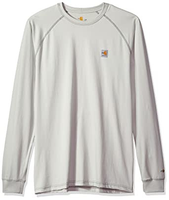 89e8041ab Carhartt Men's Big and Tall Big & Tall Flame-Resistant Force Long Sleeve  T-Shirt Class 3