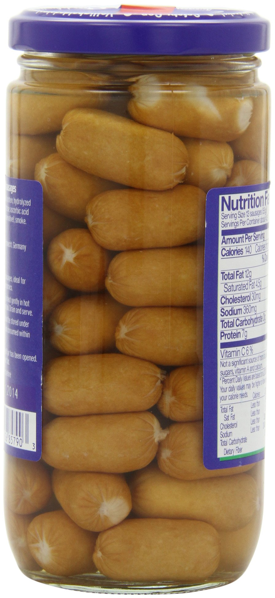 Meica Mini Wini Sixty Cocktail Sausages, 8.8 Ounce by Meica (Image #6)