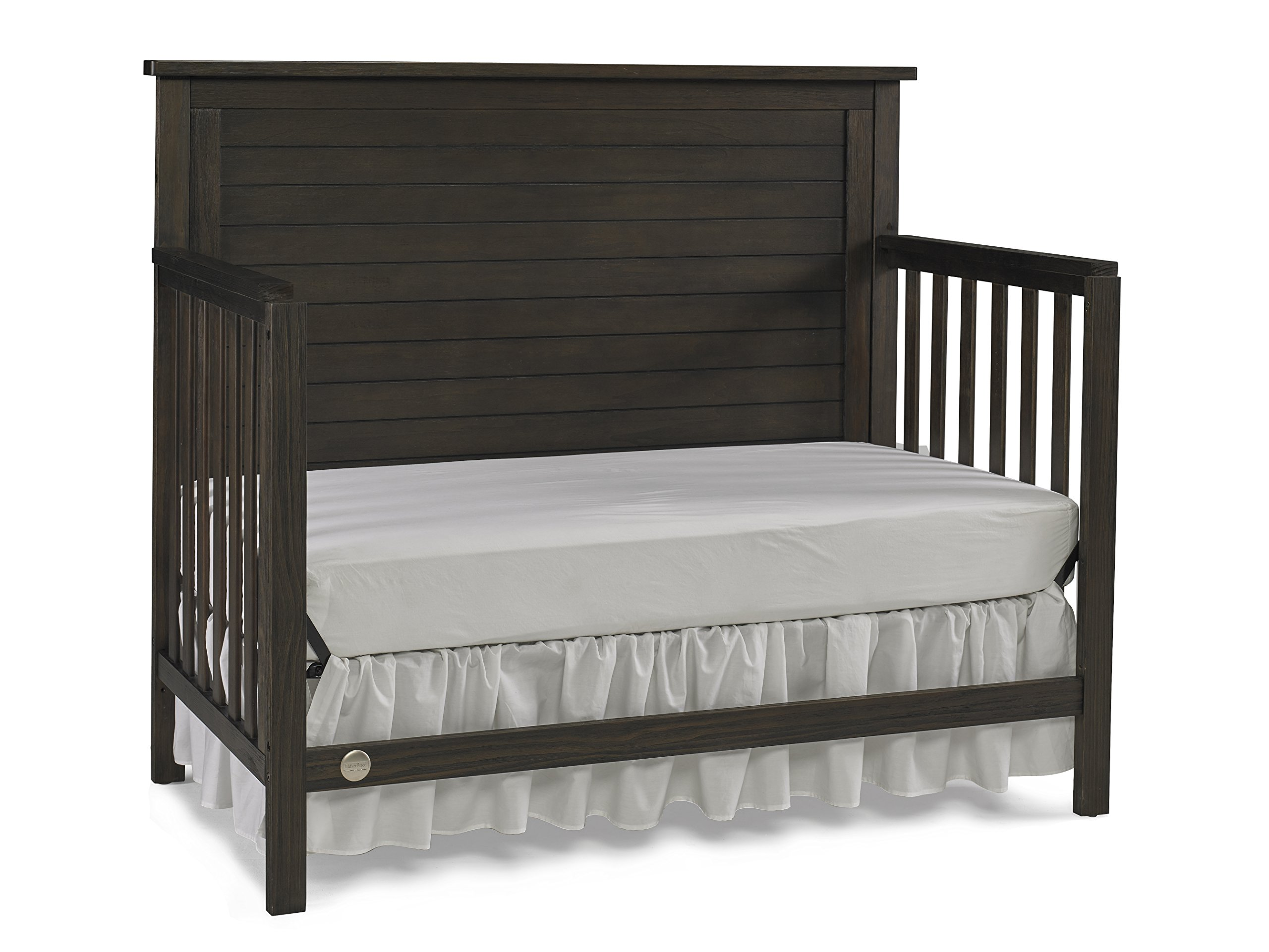 Fisher-Price Quinn 4 in 1 Convertible Crib, Wire Brushed Brown by Fisher-Price (Image #7)