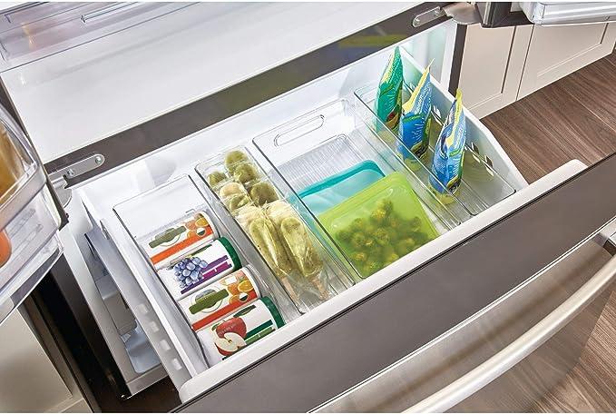 InterDesign Fridge/Freeze Binz Organizador de latas, caja de ...