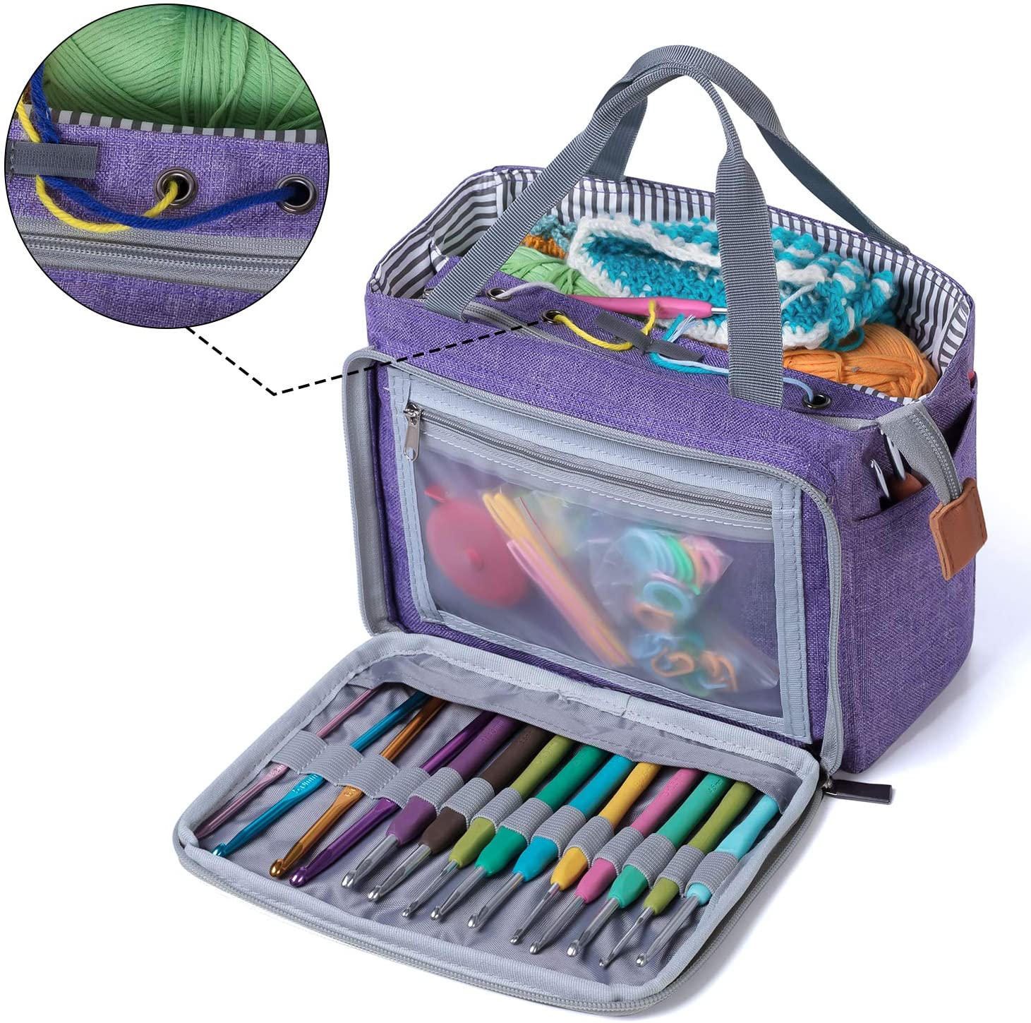 Organizer Bag per Uncinetto