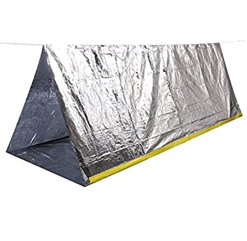 Family Pack Wealers 2 Person Emergency Survival Cold Weather Thermal Reflective Shelter Tent Pack of  sc 1 st  Amazon.com & Amazon.com : Family Pack Wealers 2 Person Emergency Survival Cold ...