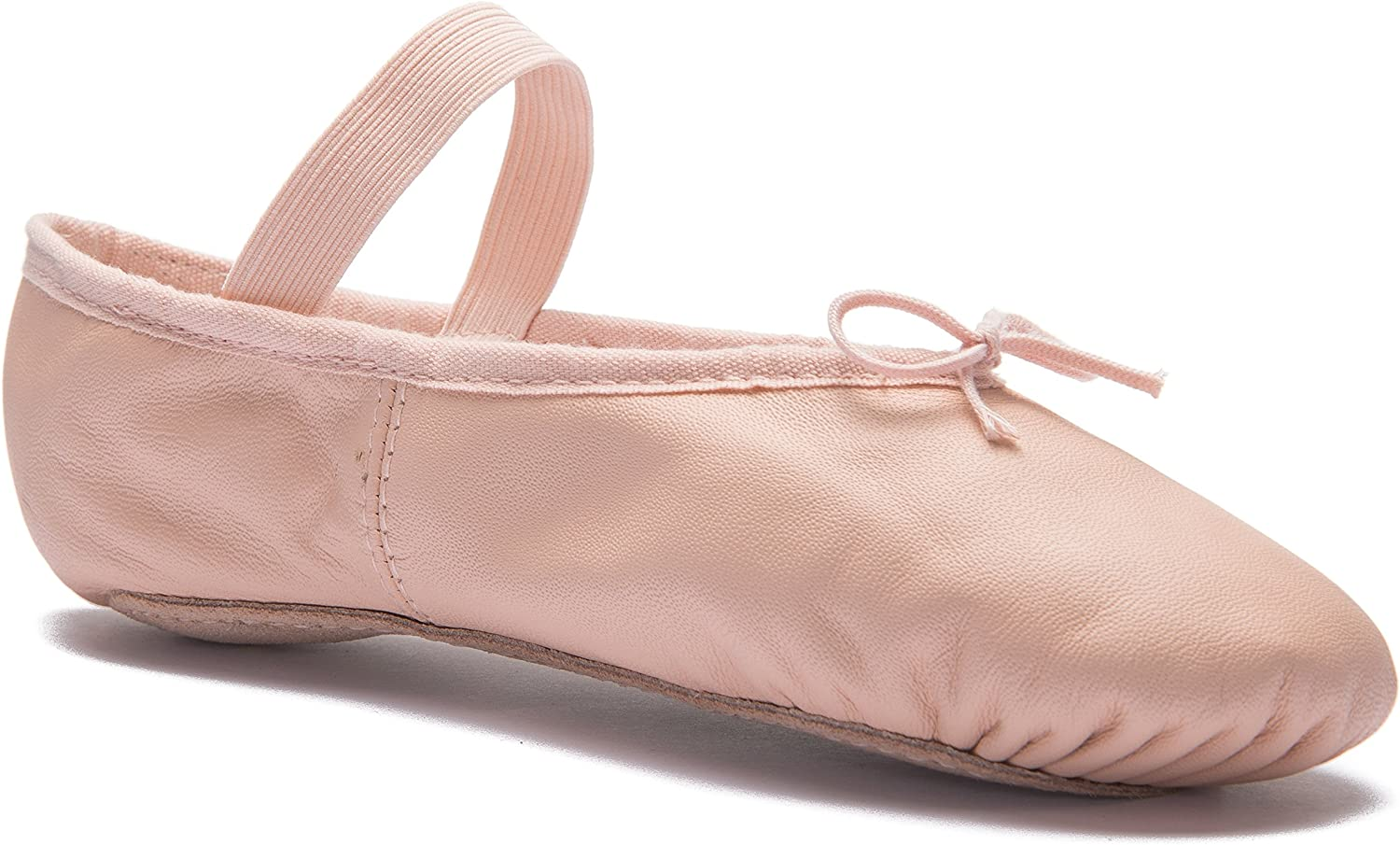 Bloch SO209 Arise Pink Leather Ballet Shoe Size 1 Child to 8 Adult s0209 209