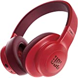 JBL E55Bt Over-Ear Wireless Headphones Red