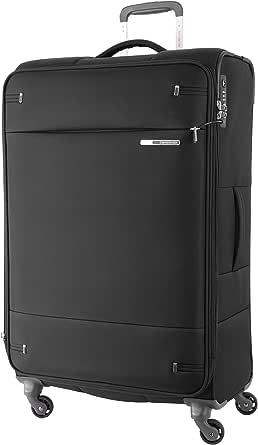 Samsonite 109258 Base Boost 2 Spinner Expandable Suitcase, Black, 78 Centimeters