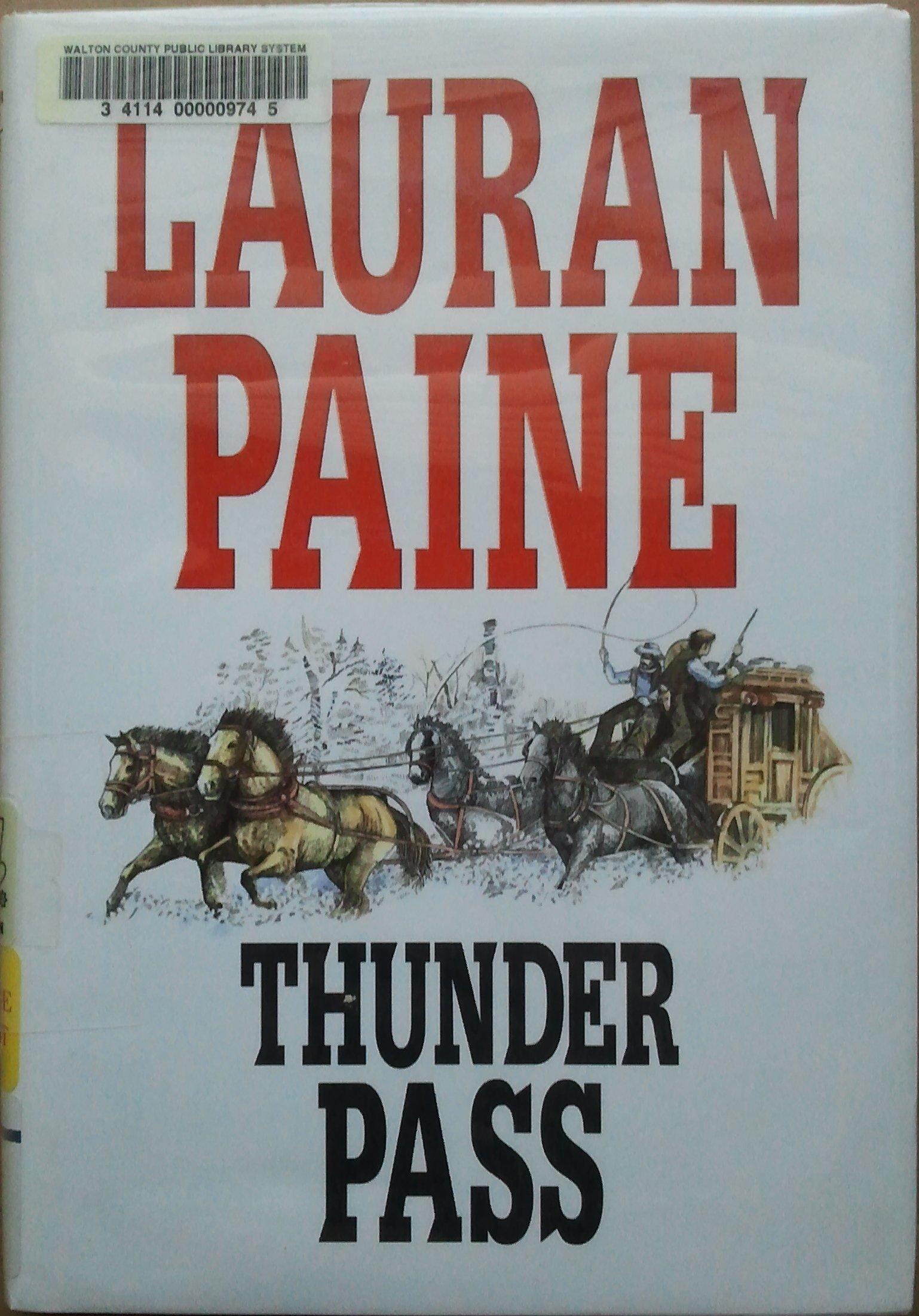 Thunder Pass (English and Spanish Edition) PDF