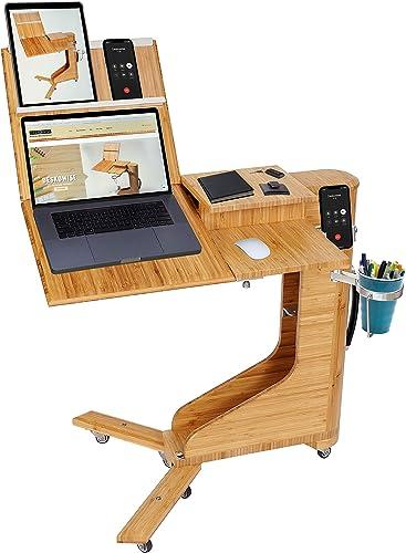 Best home office desk: Deskowise Foldable Portable Desk Perfect