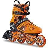 K2 Herren Inline Skate VO2 90 Boa M Orange 30B0018.1.1 - Fitness Inline-Skates Inliner Männer
