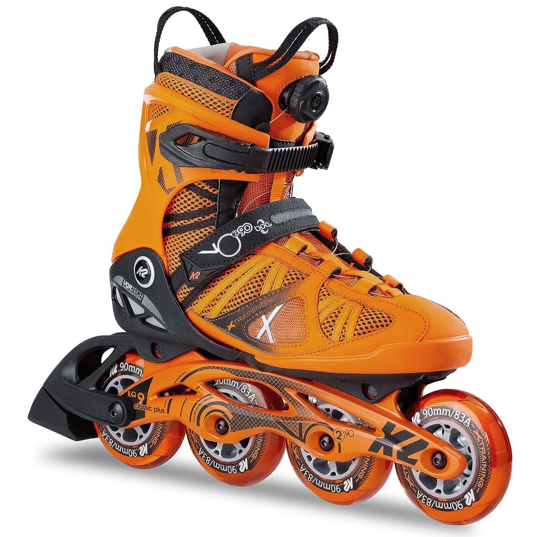 85abde8fca0 Amazon.com : K2 Skate Men's Vo2 90 Boa Inline Skates : Sports & Outdoors