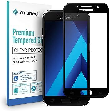 smartect Cristal Templado para Móvil Samsung Galaxy A5 2017 [3D Curvado]: Amazon.es: Electrónica
