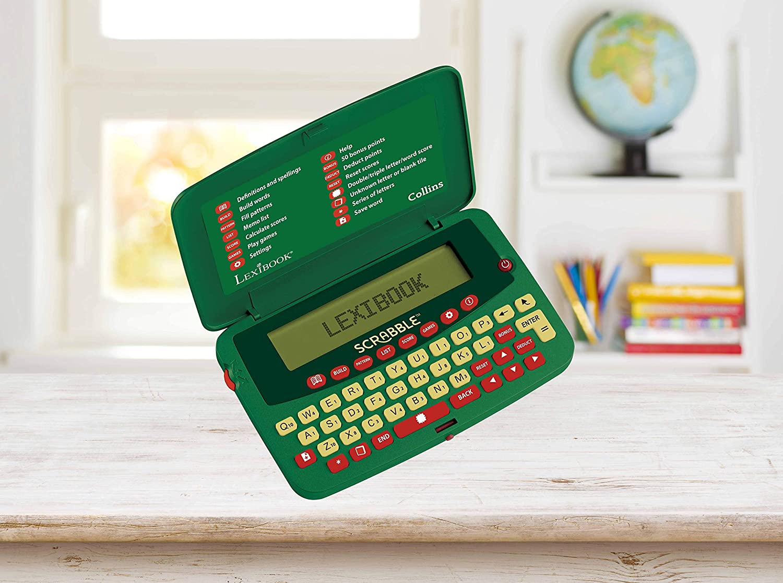 Amazon.es: LEXIBOOK- Diccionario electrónico de Scrabble Deluxe ...