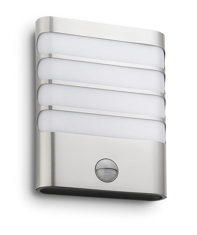 Philips Luminaire Ext Rieur Led Applique Avec D Tection Raccoon Inox