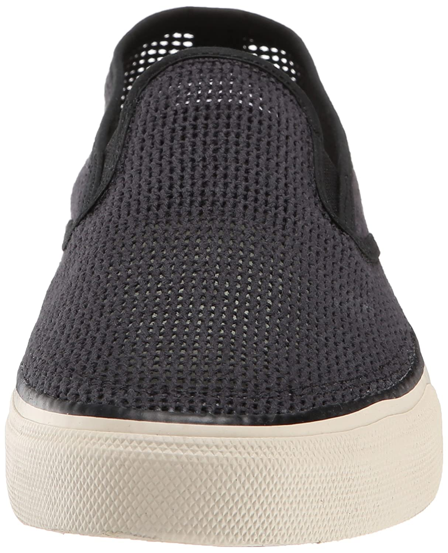 Sperry Cloud S/O Knit Zapatos del barco para hombre, Black, 41.5