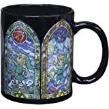 The Legend Of Zelda Links Heat Change Mug | Sensitive to Hot Drinks | Colour & Design Changes When Hot | Magic Colour Changing Coffee Tea Cup