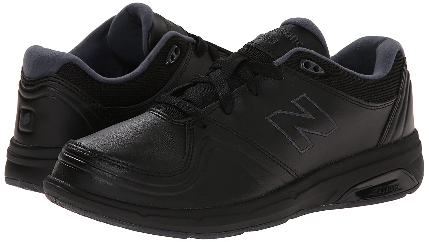 New Balance Women's 7.5 WW813 Walking Shoe B00LNN23IK 7.5 Women's 2E US|Black 10edb0