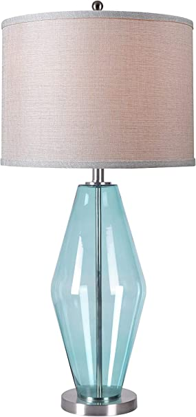 Rulke Rulke010433 Table Lamp with Brass Base and White Flower Screen Multi Color