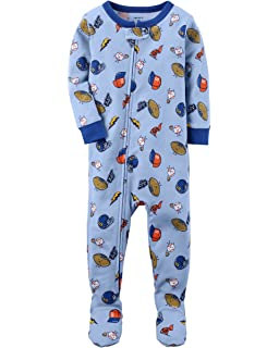 Amazon.com  Carter s Baby Boys  1 Piece Cotton Footed Sleepers  Clothing 8d8e0b5c0