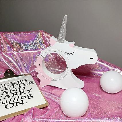 Urgrace Licorne Mignonne Style Bebe Enfant Cadeau De Noel En Bois