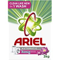 Ariel Automatic Laundry Powder Detergent Touch of Freshness Downy Original 3 kg, Pack of 1