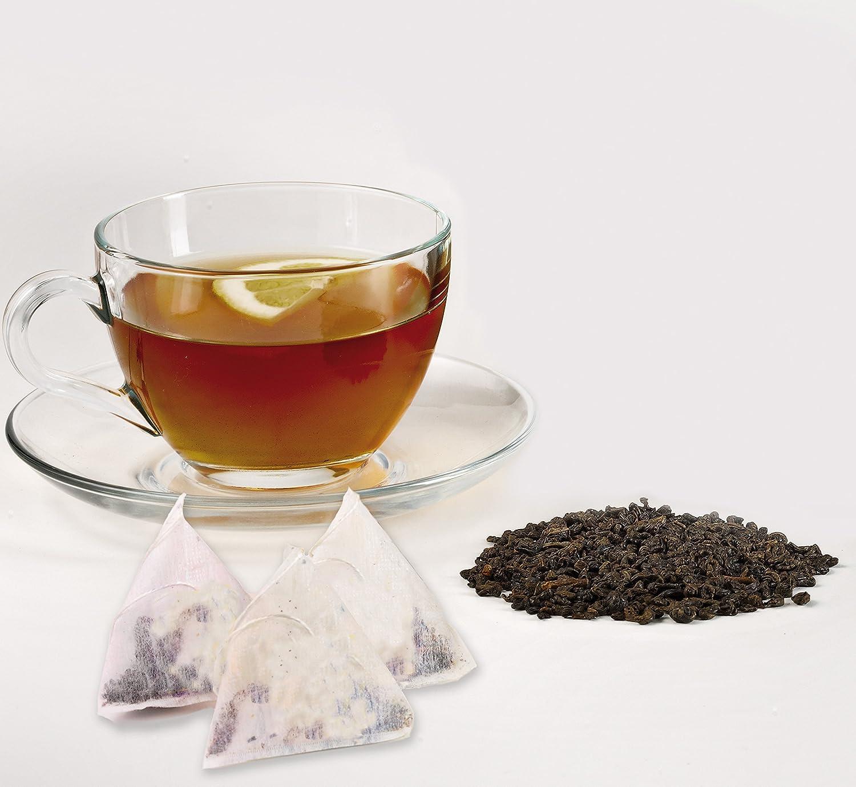 display digitale Nero 1,2 litri infusi e tisane Macchina automatica in vetro per t/è filtro in acciaio inox Ariete/2867 Tea Maker