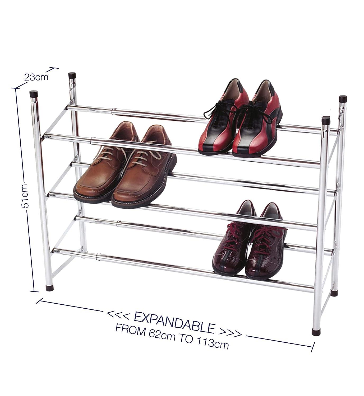Medidas del zapatero knight para 18 pares de zapatos