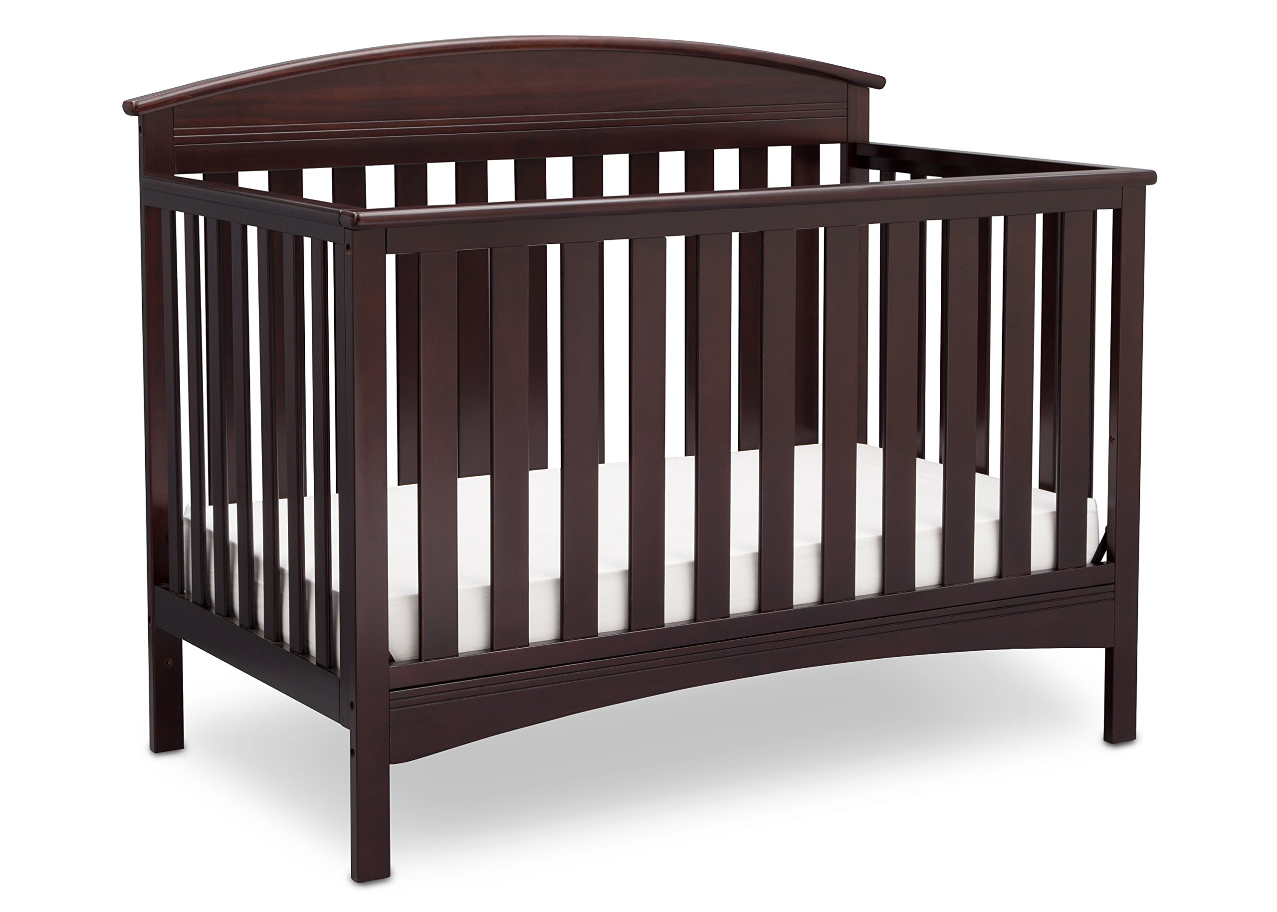 Delta Children Abby 4-in-1 Convertible Crib, Dark Chocolate