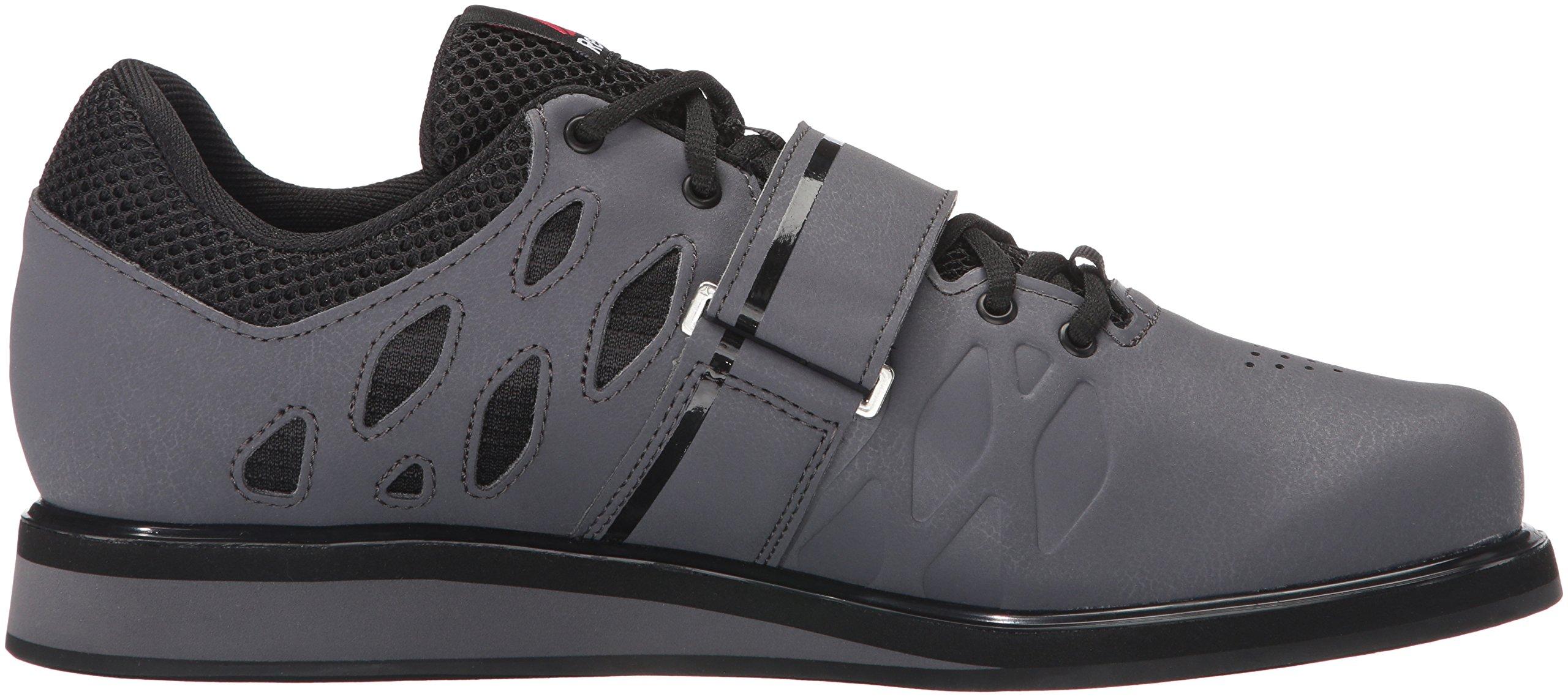 Reebok Men's Lifter Pr Cross-Trainer Shoe, Ash Grey/Black/White, 7 M US by Reebok (Image #12)