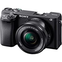 Sony Alpha a6400 Mirrorless Camera: Compact APS-C Interchangeable Lens Digital Camera with Real-Time Eye Auto Focus, 4K…