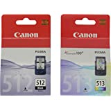 Canon PG512,CL513 Ink Cartridge - Black/Colour