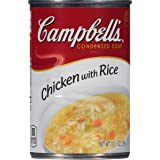 Campbell's Condensed Soup, Chicken with Rice, 10.5 Ounce