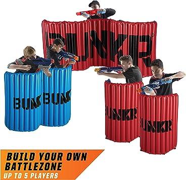 Amazon.com: BUNKR - Torneo hinchable (5 piezas), color rojo ...