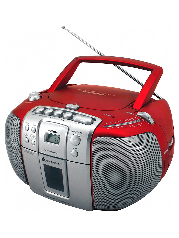 Amazon.com: soundmaster SCD5406RO red: MP3 Players & Accessories