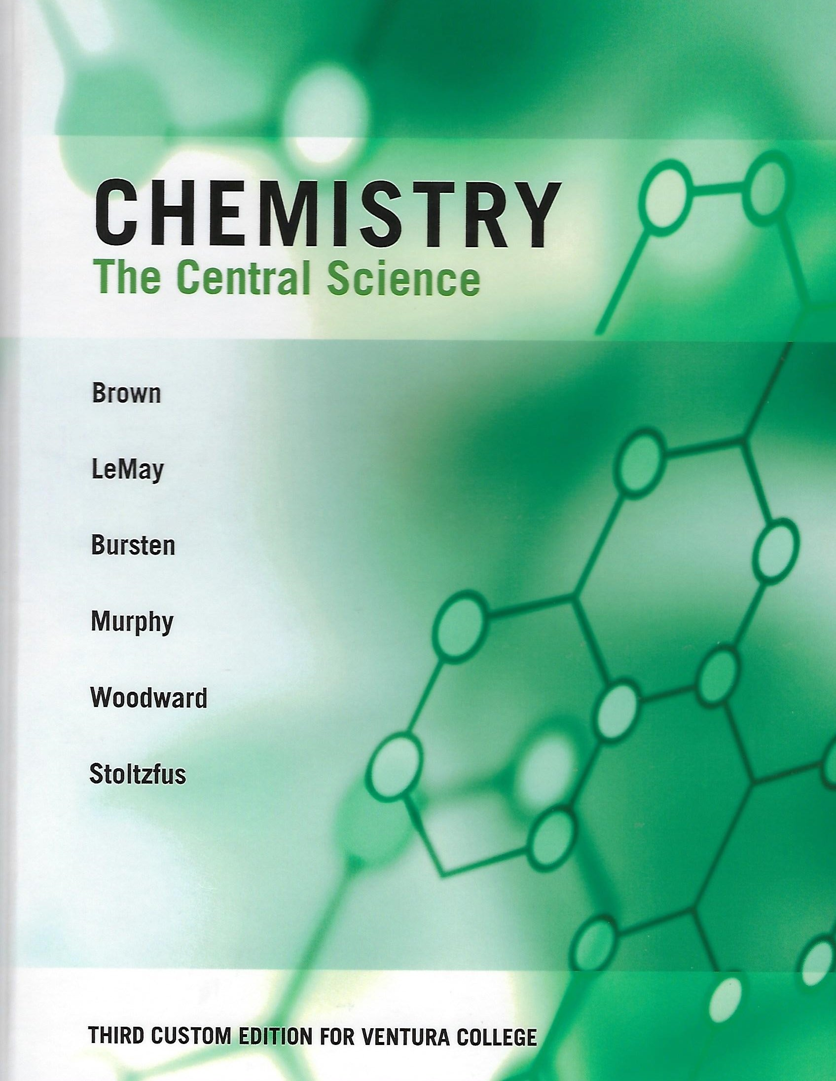 Chemistry The Central Science: Brown, LeMay, Bursten, Murphy, Woodward,  Stoltzfus: 9781269911740: Amazon.com: Books