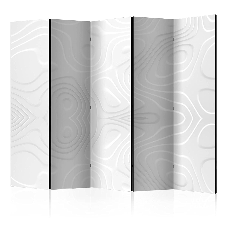 Murando Raumteiler Abstrakt Foto Paravent 225x172 Cm Beidseitig Auf