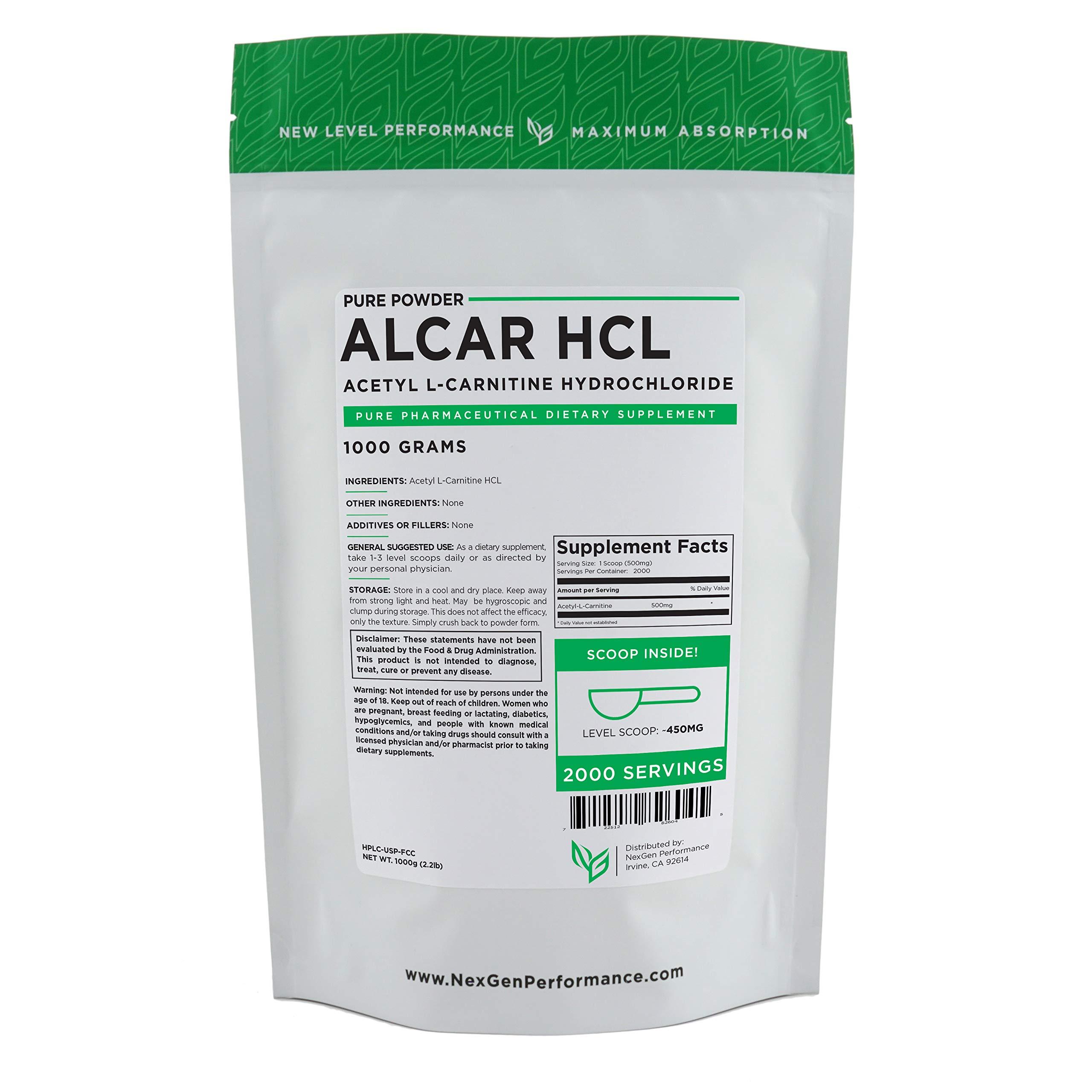 Acetyl L-Carnitine (ALCAR)   Energy & Performance (1000g (2.2lb))