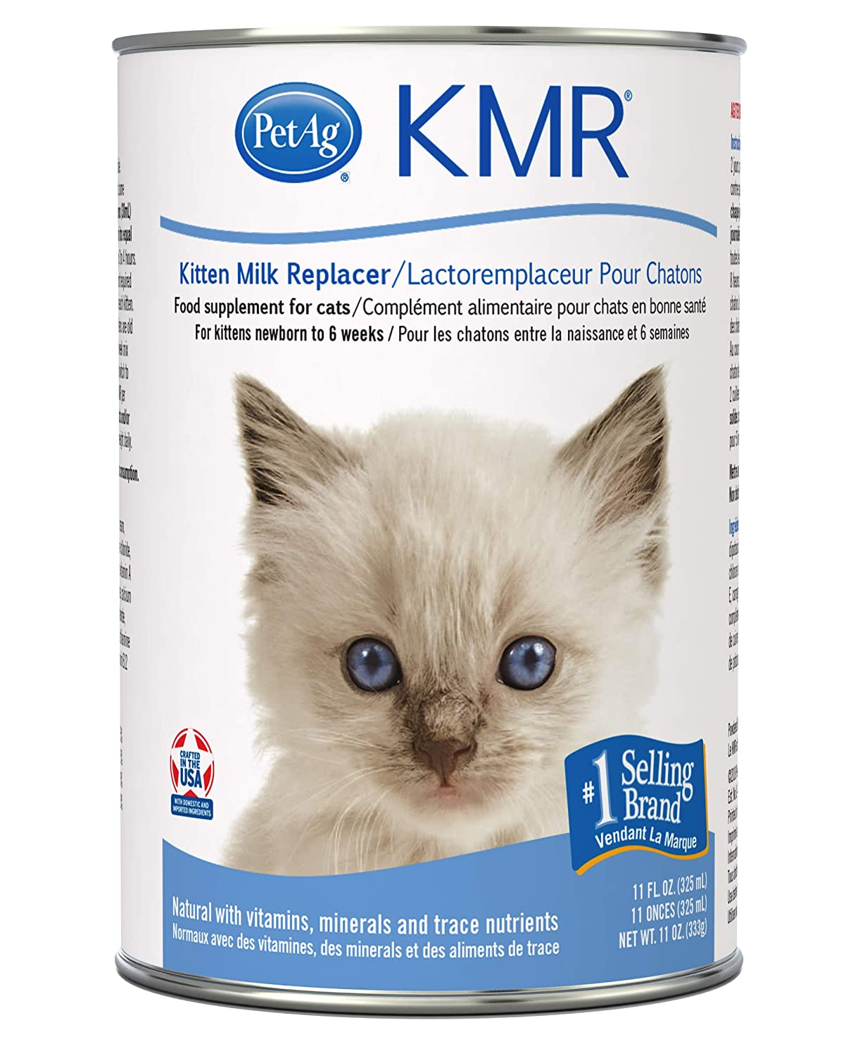Pet Ag Kmr Milk Replacer For Kittens Liquid 11oz Amazon In Pet Supplies