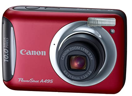 CANON POWERSHOT A495 DRIVER FOR WINDOWS