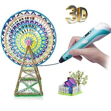 Amazon.com: 3d Pen- regalo de cumpleaños para niños DIY ...