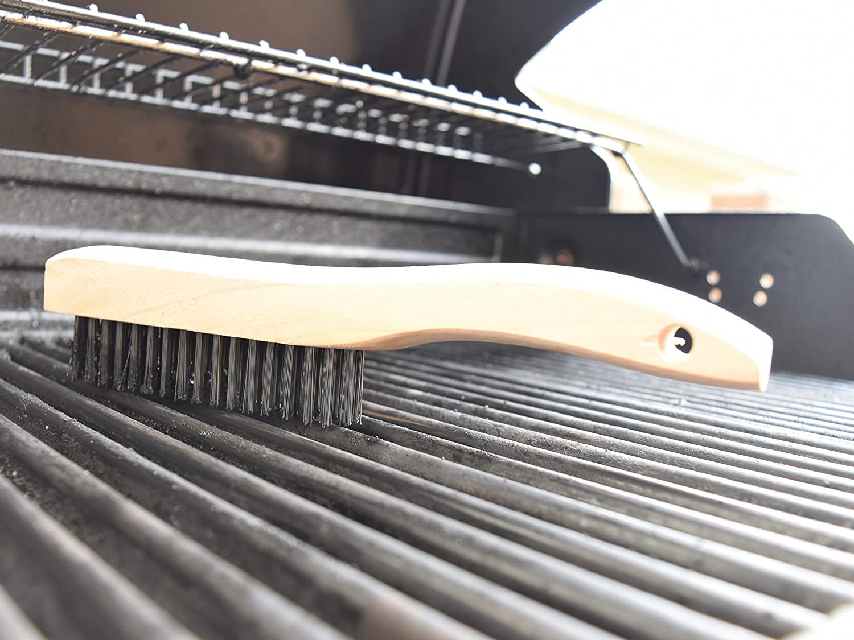 4 Multi-Purpose Shoe Handle Wire Scratch Brushes JAK Industrial
