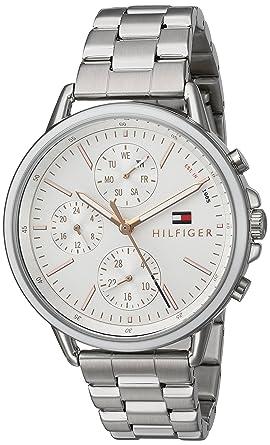 e5bec013b Amazon.com: Tommy Hilfiger Women's Casual Sport Quartz Watch with ...