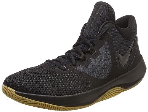 a7951d36453 Nike Men s Air Precision Ii Black Basketball Shoes-10 UK India (45 ...