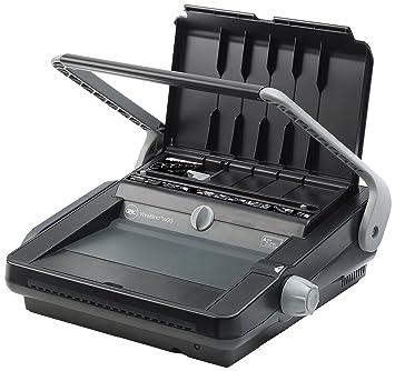 GBC WireBind W20 - Máquina de encuadernación Negro, Gris: Amazon.es: Oficina y papelería