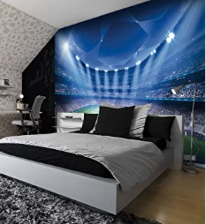 Exceptionnel Football Stadium Pitch Sports Wall Mural Photo Wallpaper Kids Bedroom  Decoration 260cmx175cm