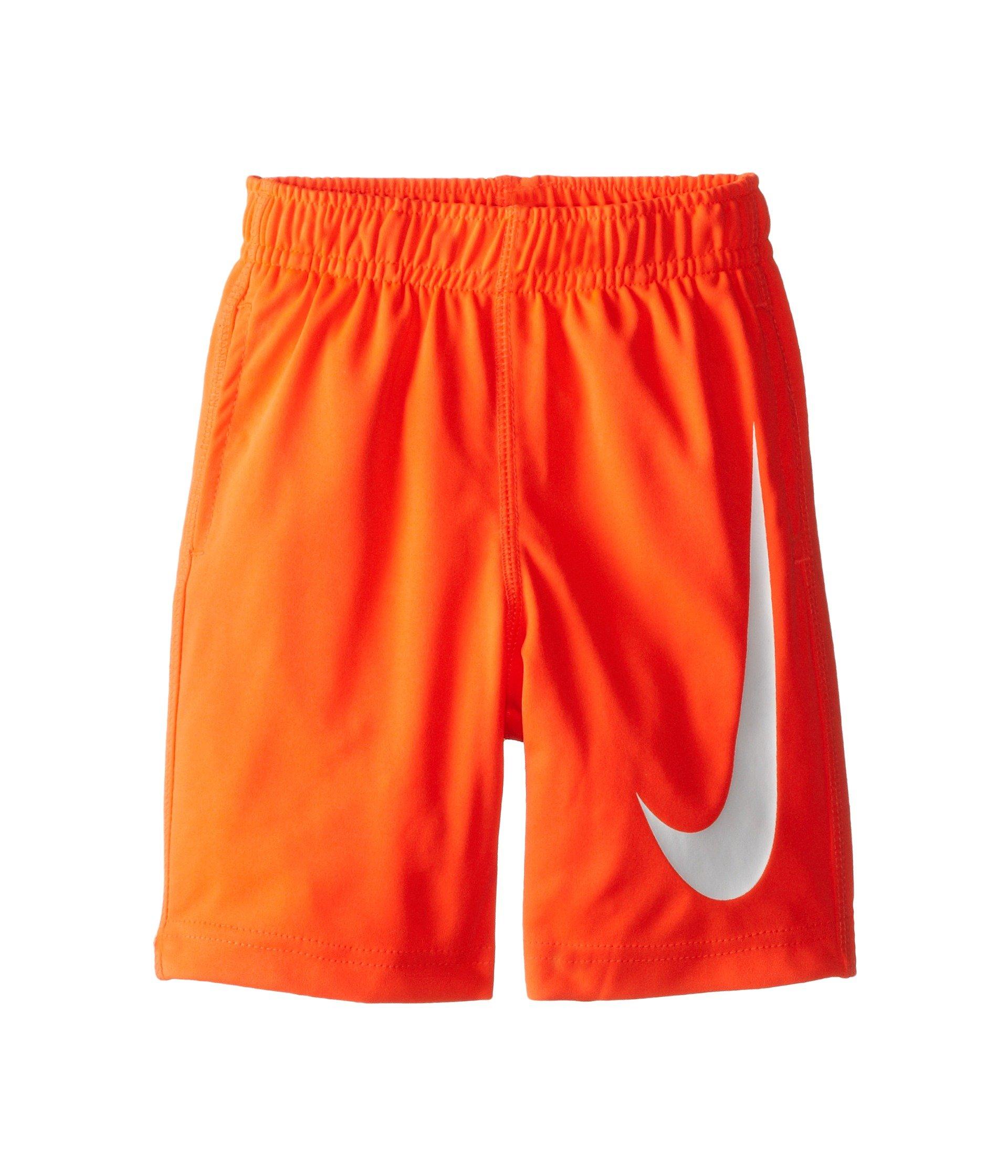 Nike Kids Boys Performance Swoosh Shorts (Toddler), Bright Crimson, 2T by Nike