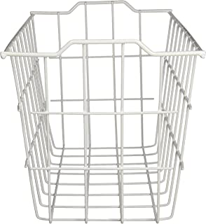 Grayline 40604, Deep Storage Basket, White
