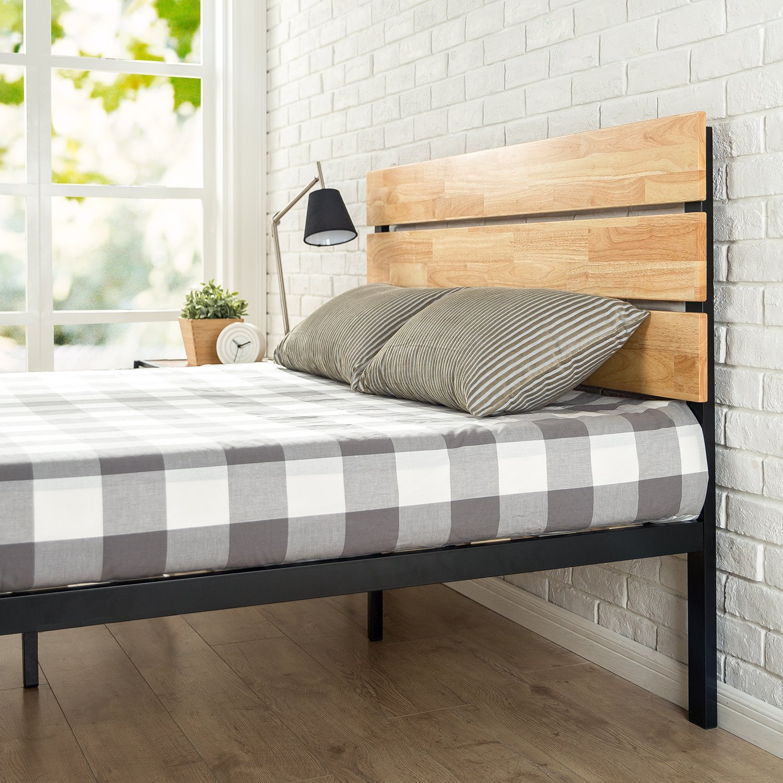 Zinus Sonoma Metal & Wood Platform Bed Review