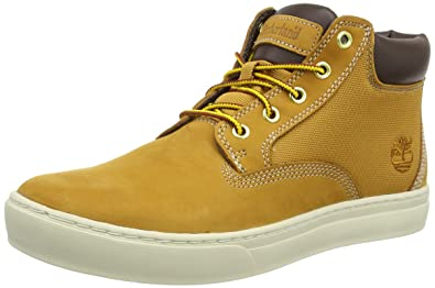 Timberland 2 0 Cupsole 6In, Sneakers Hautes homme, Jaune (Wheat), 45.5 EU