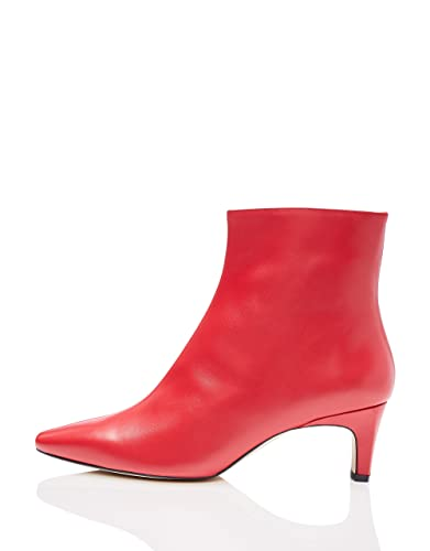 4567fb4405be9 find. Women's Western Leather Ankle Boots: Amazon.co.uk: Shoes & Bags